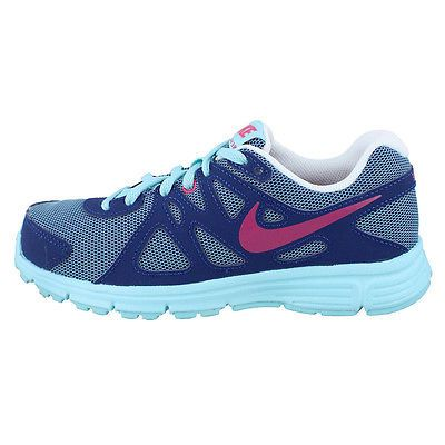 Multi Color Boys Girls Kids Nike Revolution 2 GS SRP Size 5.5y
