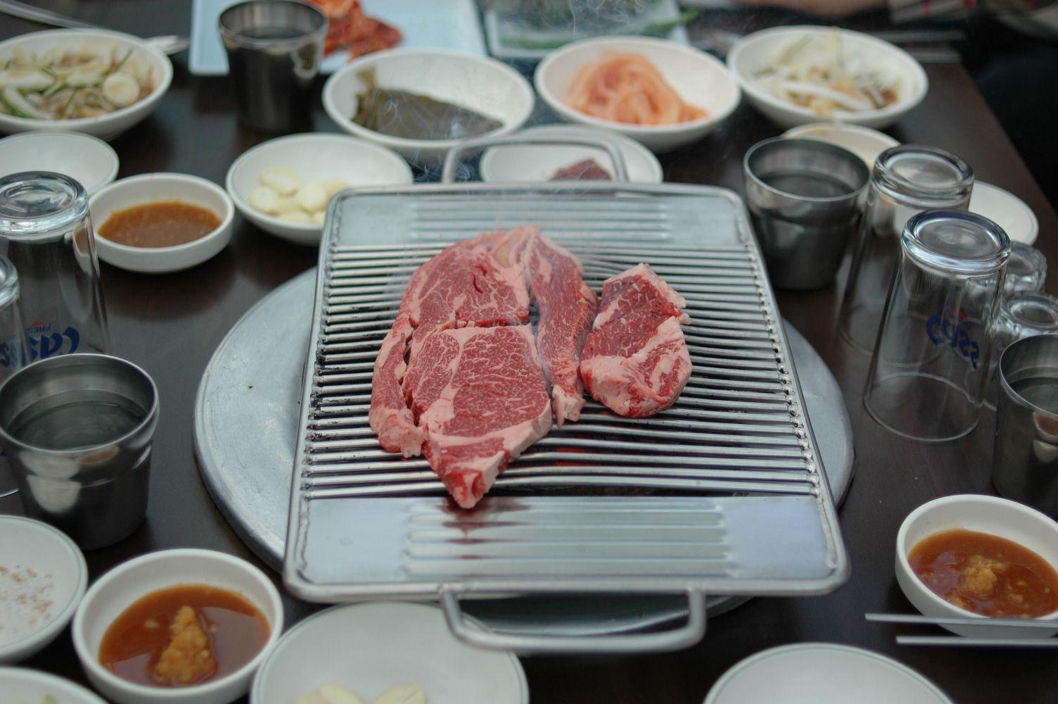부드럽고 맛있는 청계산장 한우등심--성남시 수정구 상적동 212-5 031-723-9938