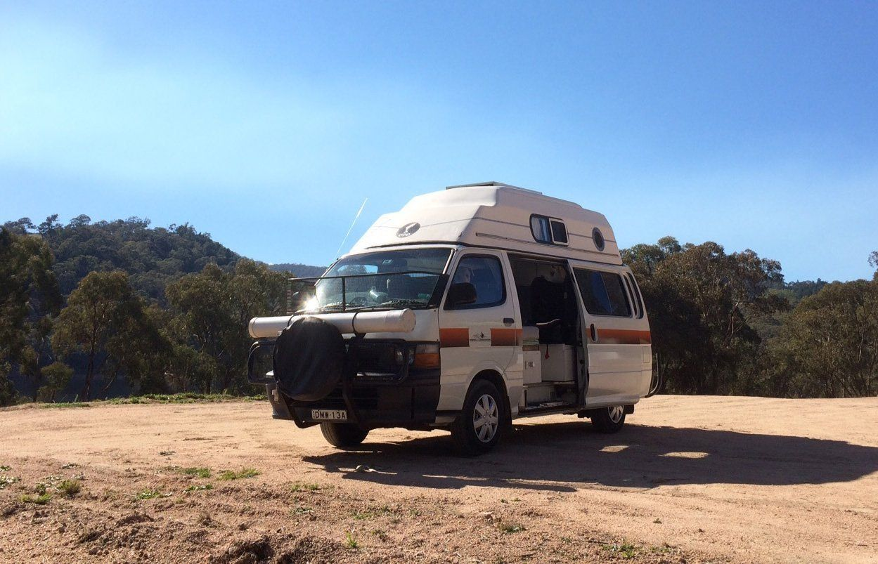 Toyota Hiace for hire in Sydney Camplify Toyota hiace