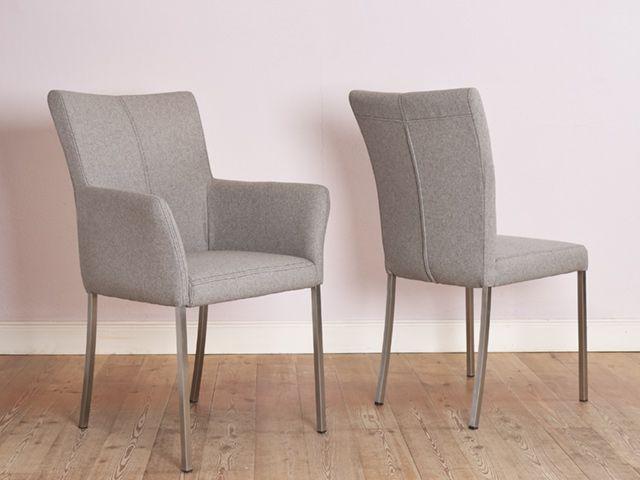 Billig Stuhl Mit Armlehne Grau Stuhle Pinterest