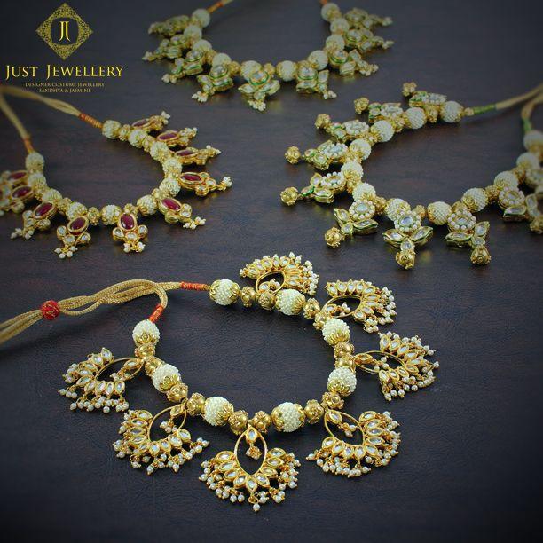 justjeweleryindiaThe Pearl and Kundan Fantasy !! # #justjewellery #justjewelleryindia #mahalaxmi #Mumbai