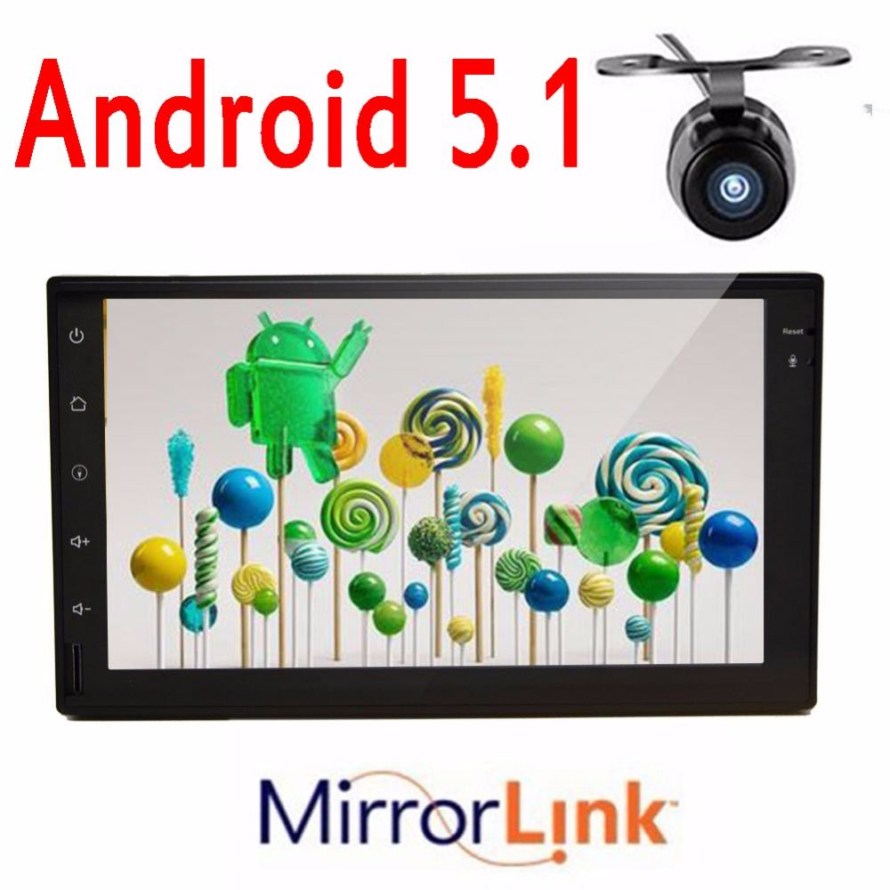 7 Android 5 1 2 Din Car Radio Multimedia Video Player For