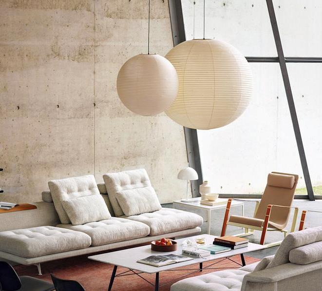 Akari Noguchi 120a Ceiling Lamp Pendant Lighting Lounge Lounge