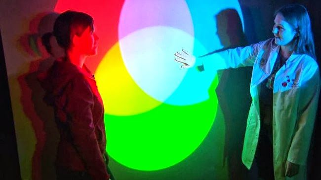Kunst og handverk med TE: Pigmentfarger og lysfarger