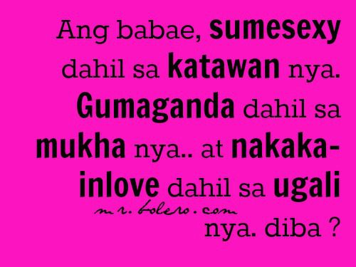 Mr. Reklamador About Tagalog Love Quotes Collections | OFW Quotes ...