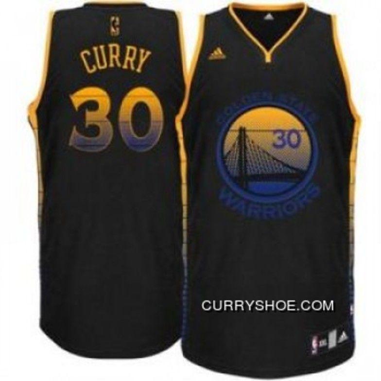 5b37c108 Nba Golden State Warriors Stephen Curry Swingman Vibe Jersey : #30 Adidas  Black Mens Copuon