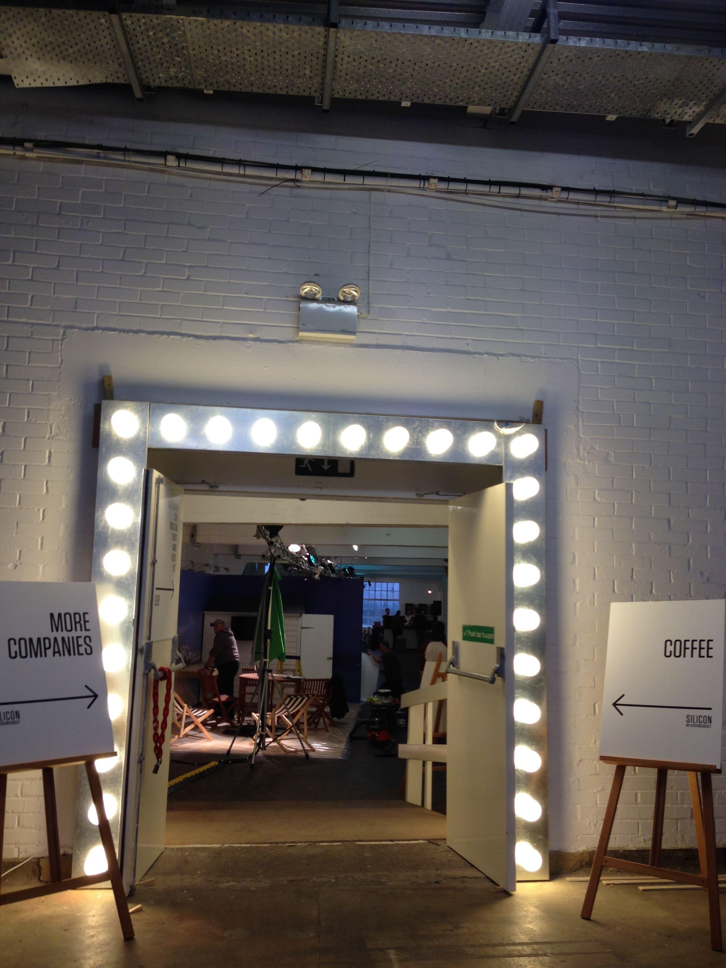 Light Bulb Door Frame In 2019 Installation Art Frame