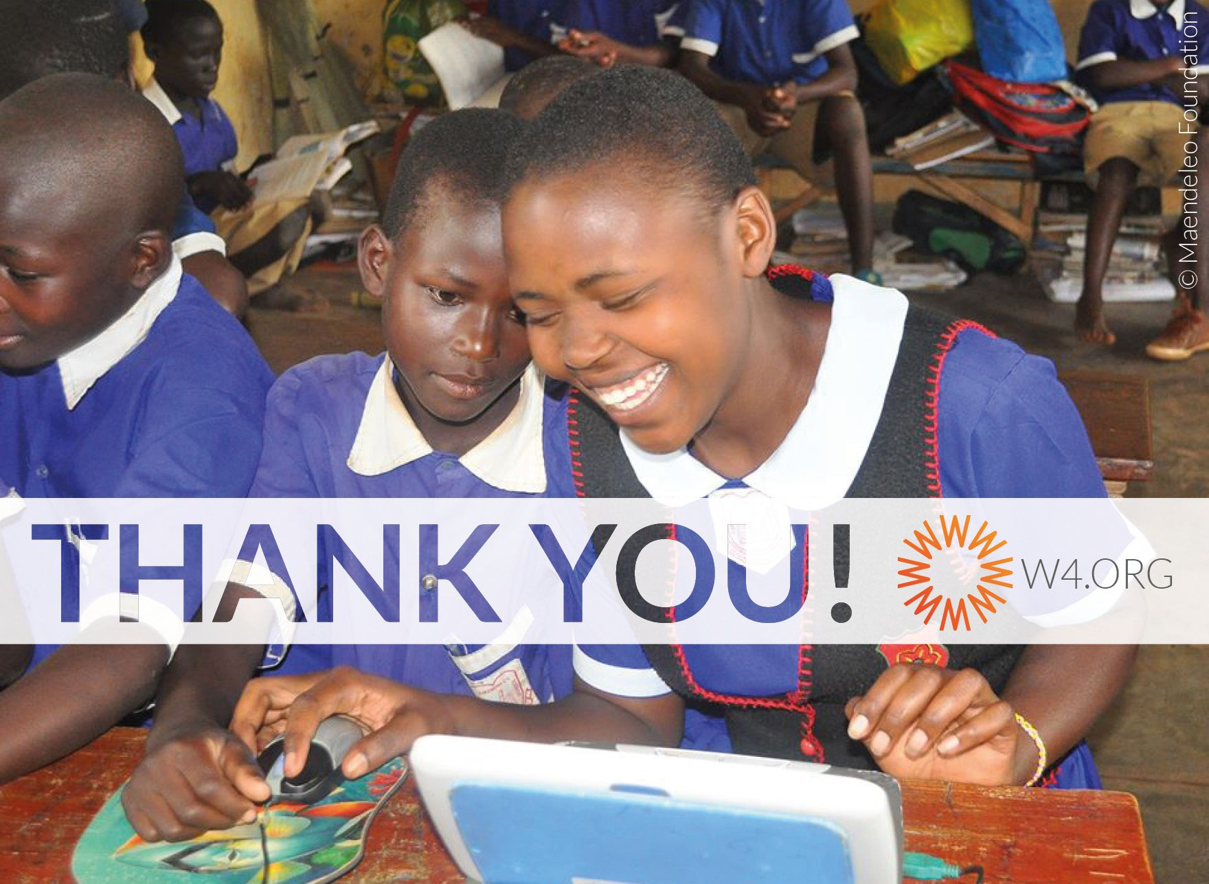 YOU DID IT! Thank you dear #W4 donors for helping us reach our fundraising goal for our field program in Uganda! Thanks to you, 450 girls and 70 women from rural #Uganda will benefit from innovative IT (information technology) education, enabling the girls and women to acquire useful skills that can help them succeed in their education and ultimately obtain safe employment. Your support is life-changing! THANKYOU! https://www.w4.org/en/project/help-rural-women-in-uganda-business-training/