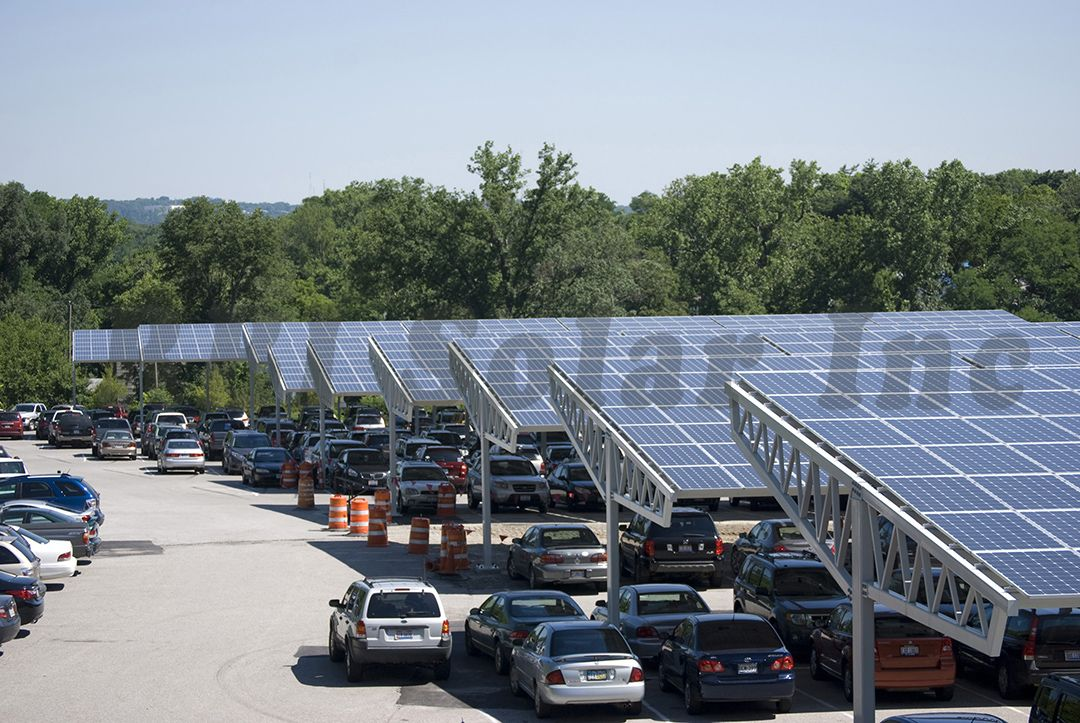 Solar Carport And Steel Frame Solar Canopies From Rbi Best Solar
