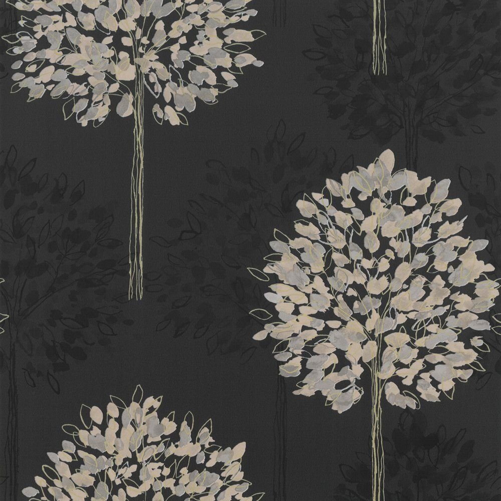 Black Wallpaper Uk 2015 Grasscloth Wallpaper Tree Wallpaper Gold Wallpaper Wallpaper Uk