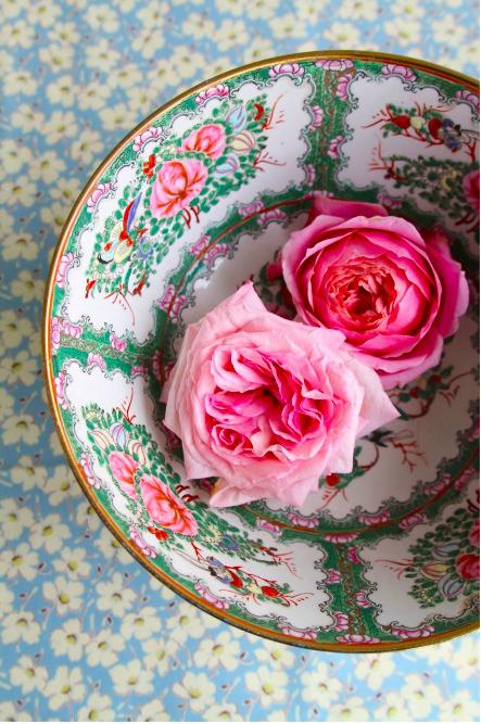 bohemian roses.