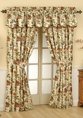 Waverly  Felicite Window Valance and Panel - Online Only
