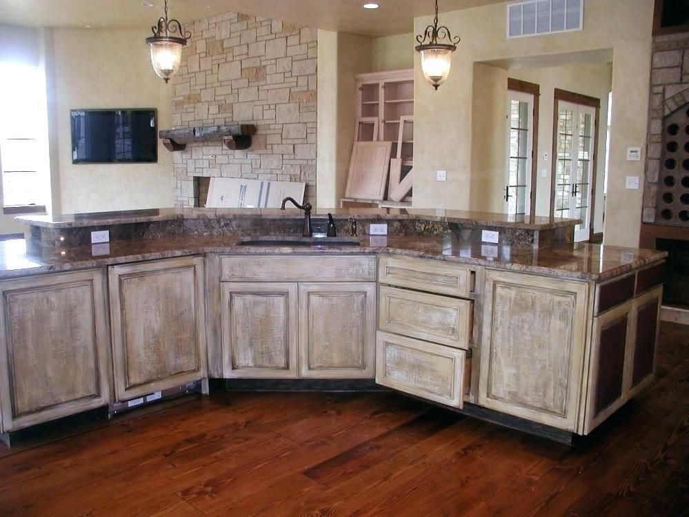 Whitewashed Kitchen Cabinets Whitewashing Kitchen Cabinets Black