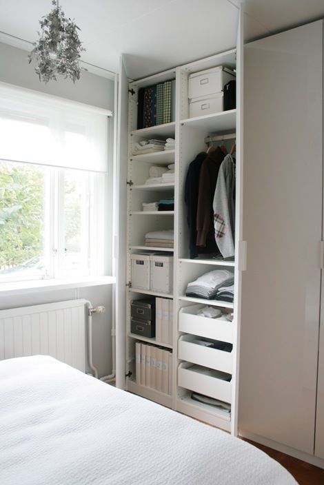 Ikea Closet Shelves For Shoes Sweaters And Tees Drawers