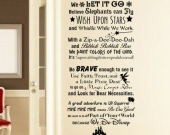 This Item Is Unavailable Our Houses Pinterest Disney Wall - Vinyl decals for walls etsy