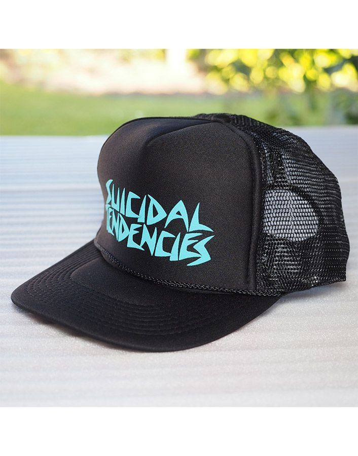 Suicidal Tendencies - Trucker Snapback Hat. - Snap Back - Thick Colour  Printed Logo - 100% Polyester Free Shipping to anywhere in Australia. c3dc5bac7bf