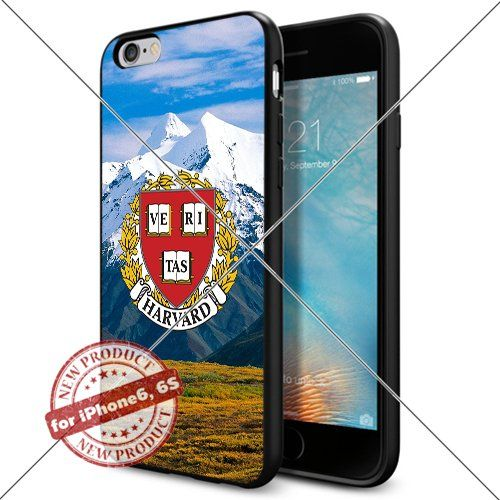 WADE CASE Harvard Crimson Logo NCAA Cool Apple iPhone6 6S Case #1168 Black Smartphone Case Cover Collector TPU Rubber [Forest] WADE CASE http://www.amazon.com/dp/B017J7O44Y/ref=cm_sw_r_pi_dp_7A3rwb1CSKMPE
