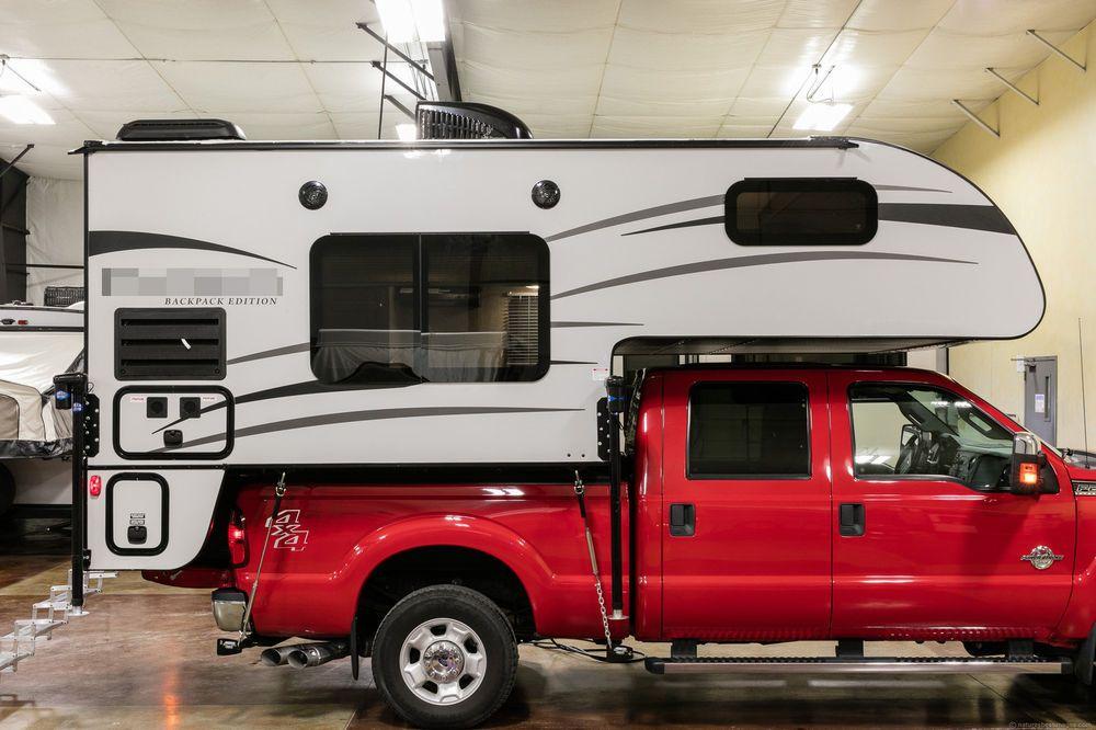 2017 Slide In Pickup Truck Camper Hs 8801 Truck Campers