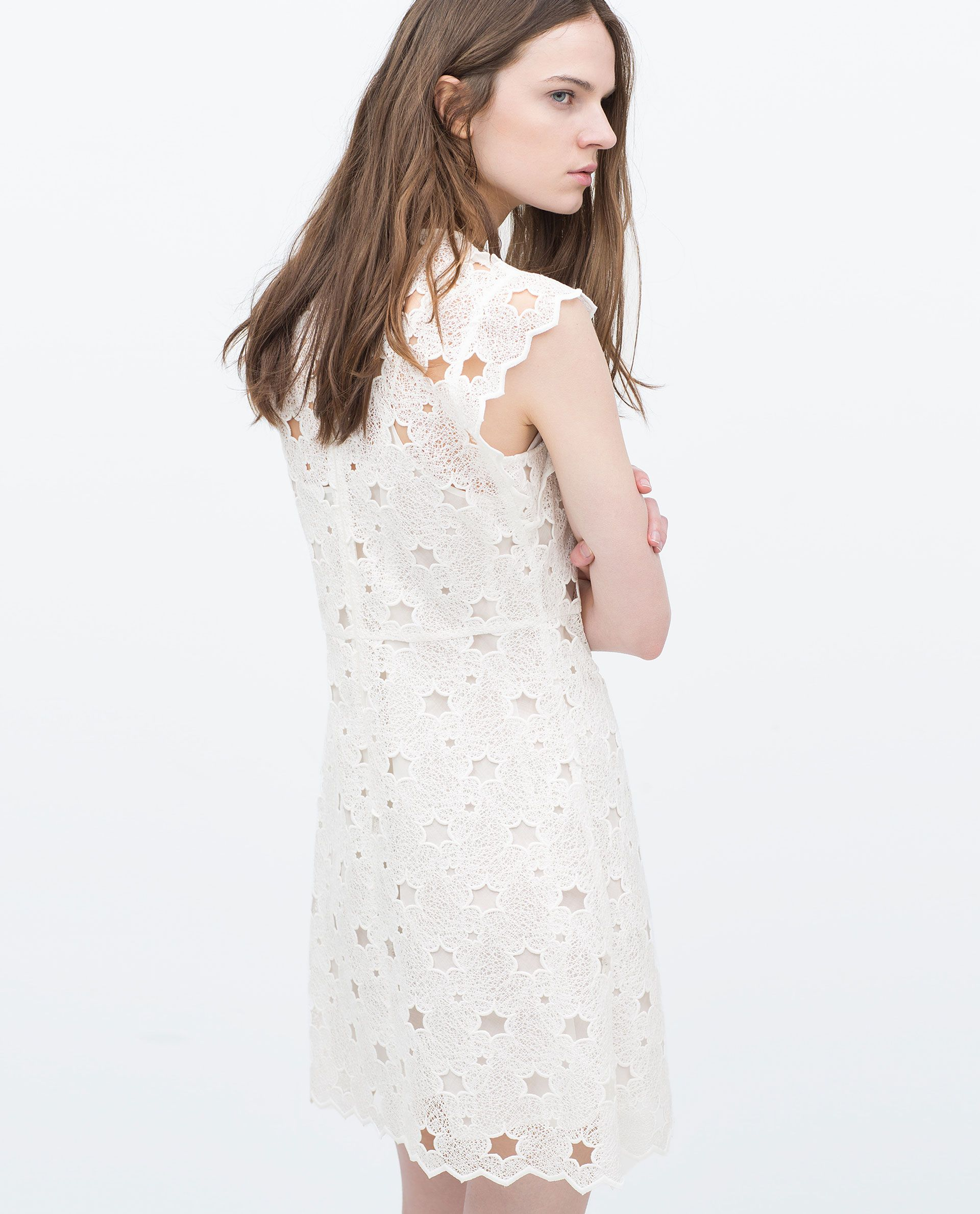 ZARA - WOMAN - GUIPURE STARS DRESS