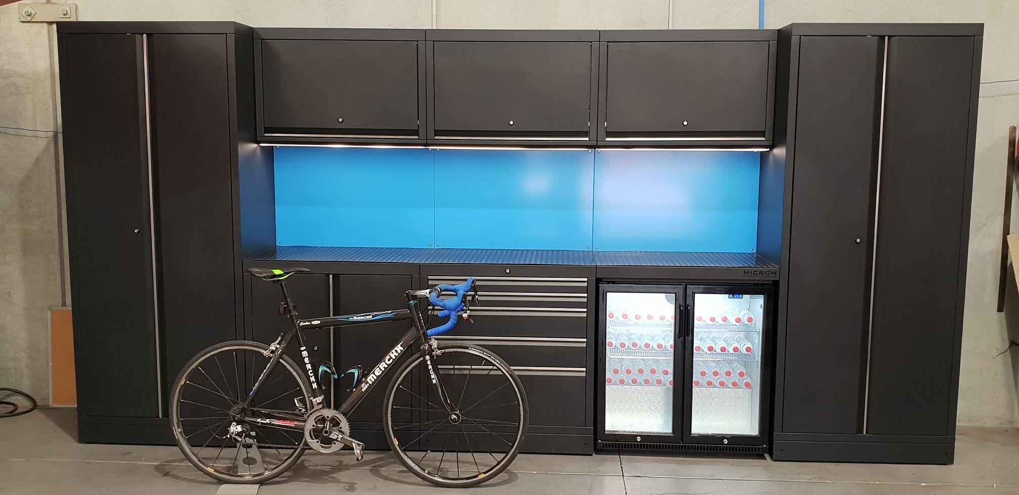 Garage fit out Fitness, Garage, Storage