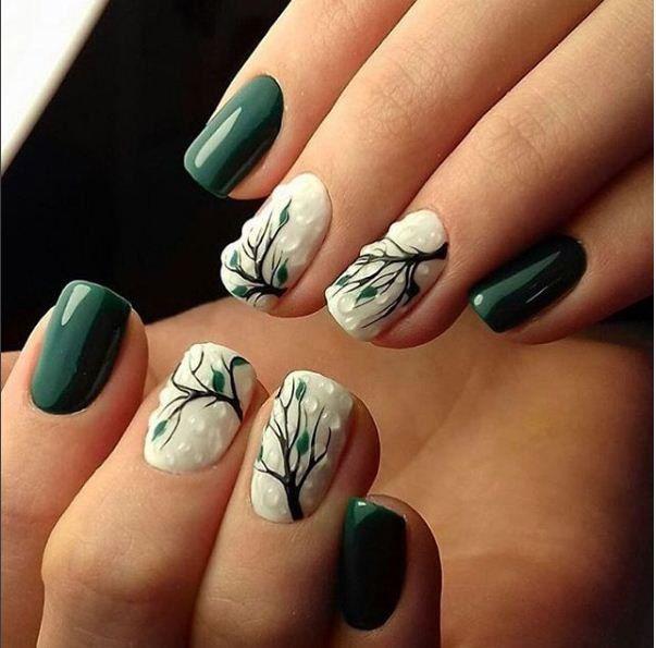 маникюр видео уроки Art Simple Nail Claws Uña Decoradas