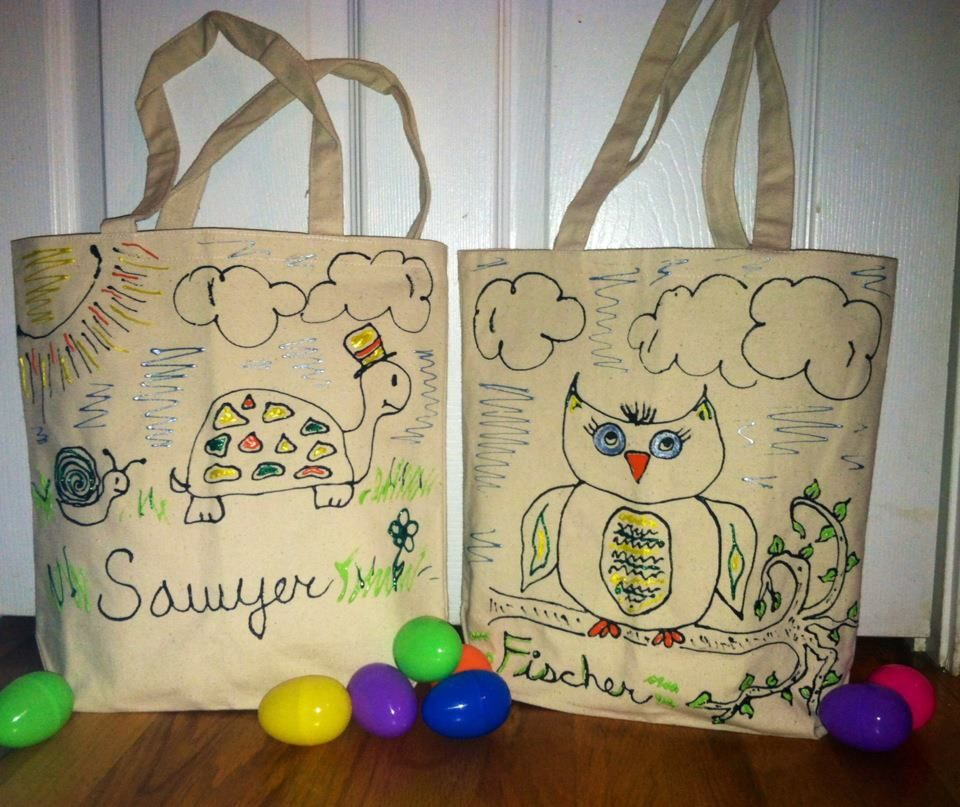 Easter gift bags reusable for books or toys after easter got easter gift bags reusable for books or toys after easter got negle Gallery