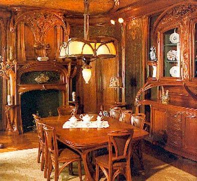 art nouveau | Art Nouveau Furniture | Pinterest | Interior art ...