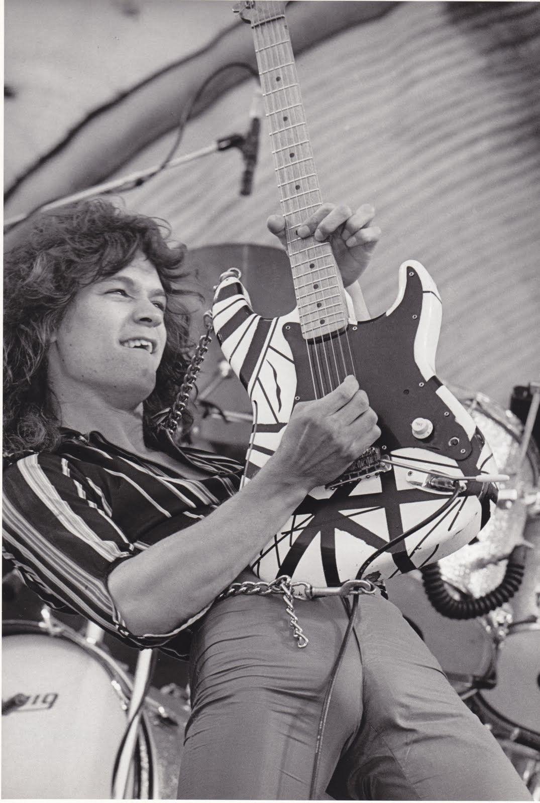 Pin By B 52 On 78 Frankenstrat Van Halen Eddie Van Halen Halen