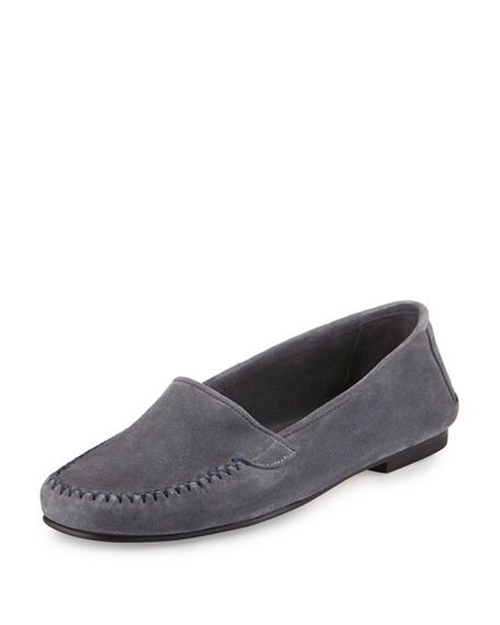 afdef64f2dc Speed Suede Moccasin Driver Flat