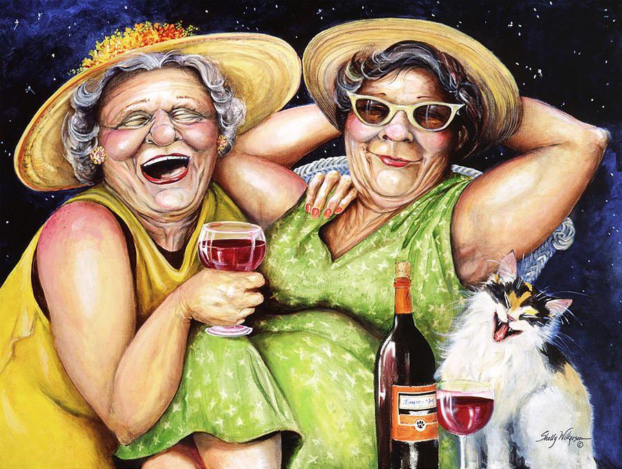 4 sales vieilles dames a la fois by clessemperor 2