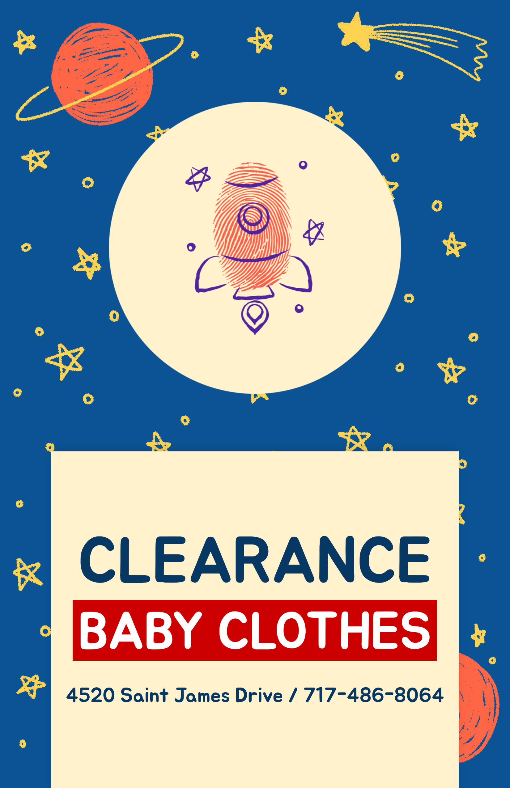 flyer design maker for baby clothing brand 502d design templates