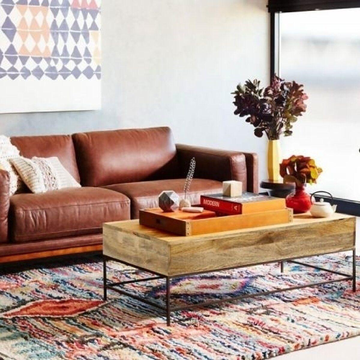 Saltoro Sherpi Mango Wood Coffee Table With 2 Drawers Brown And Black Coffee Table Wood Coffee Table Coffee Table With Storage [ 1200 x 1200 Pixel ]