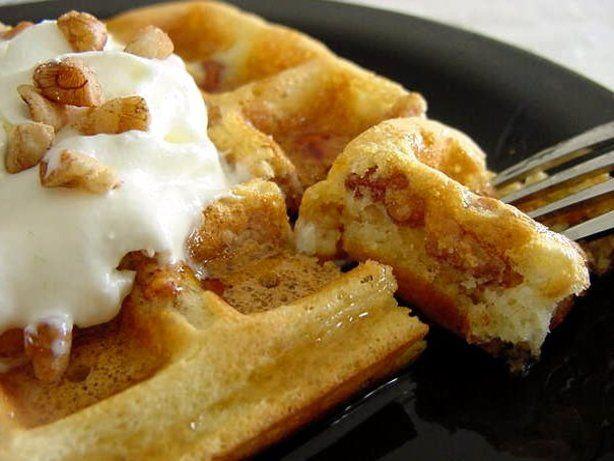 Buttermilk Pecan Waffles Recipe Food Com Recipe Pecan Waffle Recipe Waffle Recipes Food