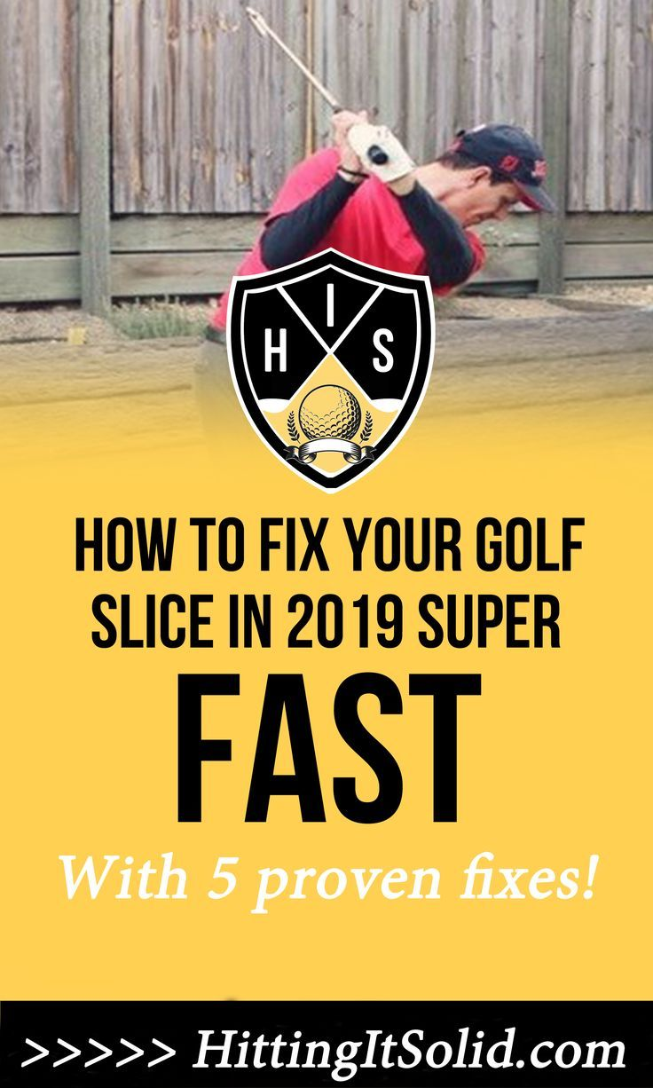 How To Fix Your Golf Slice 1 Reason Why You Slice And