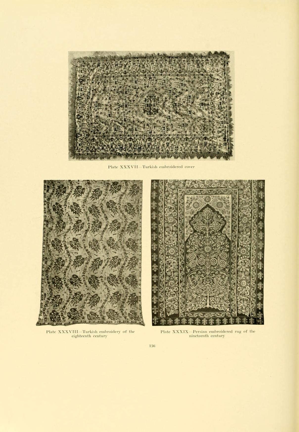 Decorative textiles; an illustrated book on cov...