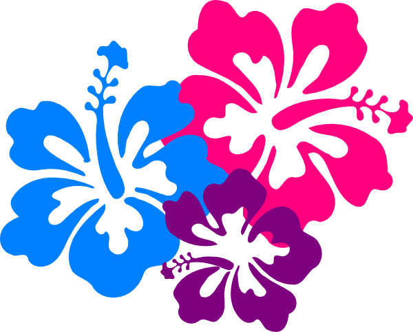 hawaiian flower clip art borders clipart panda free clipart rh pinterest co uk tropical flower clipart black and white tropical flower clip art free