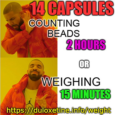 Slow Taper Weight Method In 2020 Cymbalta Withdrawal Cymbalta Capsule