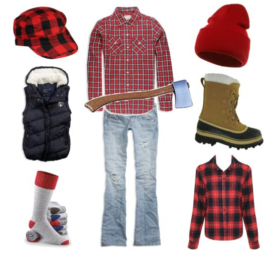 f5f8c3185 Be a #lumberjack for Halloween! How site and easy to find items. #pinparty