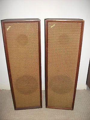 Vintage Musette Hi Fi Hifi Stereo Floor Standing 2 Way