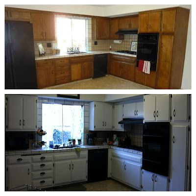 Diy kitchen cabinets updating the 70 39 s kitchen for much for Kitchen cabinets 4 less