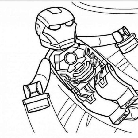 Lego Iron Man Lego Iron Man Batman Coloring Pages Superhero