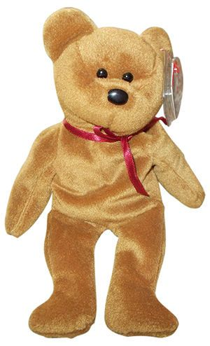 Teddy the Bear Most Expensive Beanie Babies 5de5f9d1594
