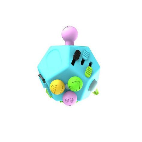 12 Sided Fidget Cube Fidget Cube Stress Relief Toys Fidget Toys