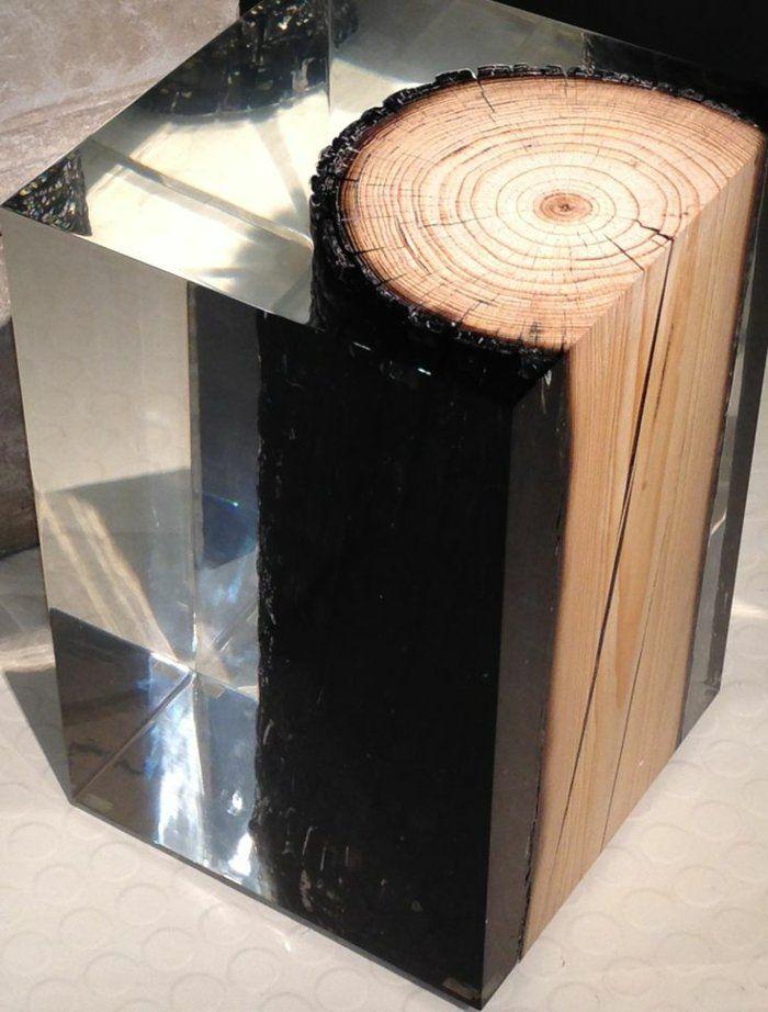 les meubles en bois brut sont une jolie touche nature pour l ... - Meuble Bois Brut Design