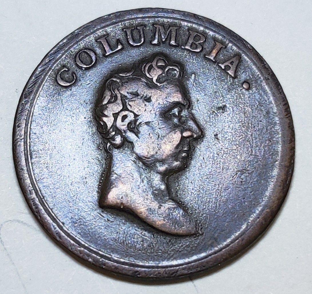 1820 1830 British Farthing Token Wellington Columbia Lady Justice Ebay Lady Justice Wellington Coinage