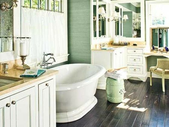 Beautiful Salle De Bain Retro Moderne Pictures - Awesome Interior ...