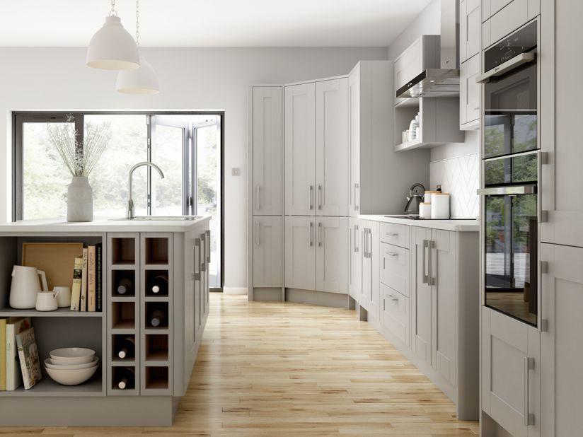 Best Milton Grey Wickes Co Uk Wickes Kitchens Kitchen 400 x 300