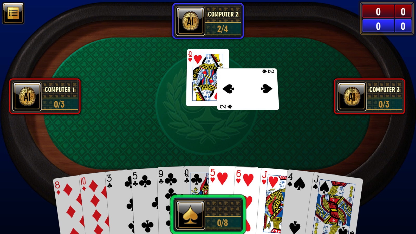 Pin by Play Free Online 32 on Spades Online Spades card