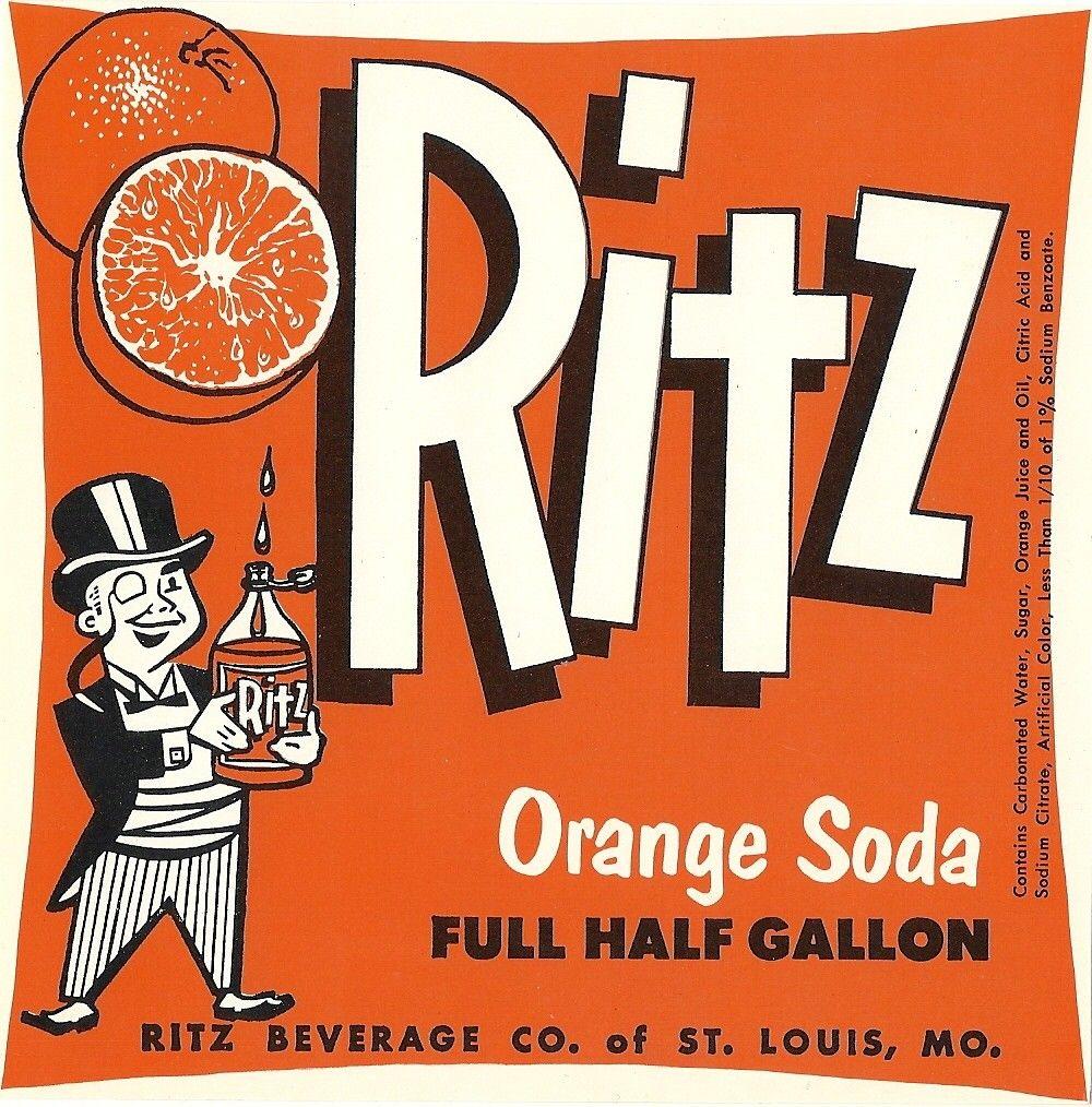 vintage soda labels - Google Search