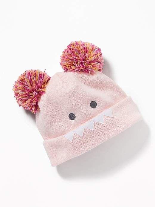 f9902c5af Critter Pom-Pom Beanie for Toddler   Baby